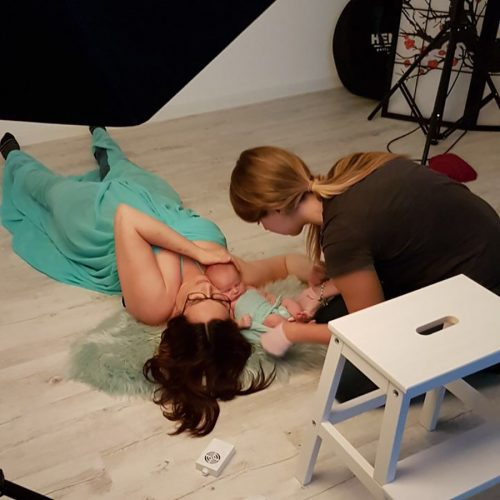 Making of - Newborn Shooting Mommy and Me